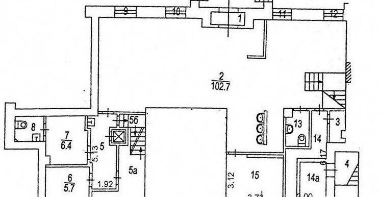 бти 1 этаж