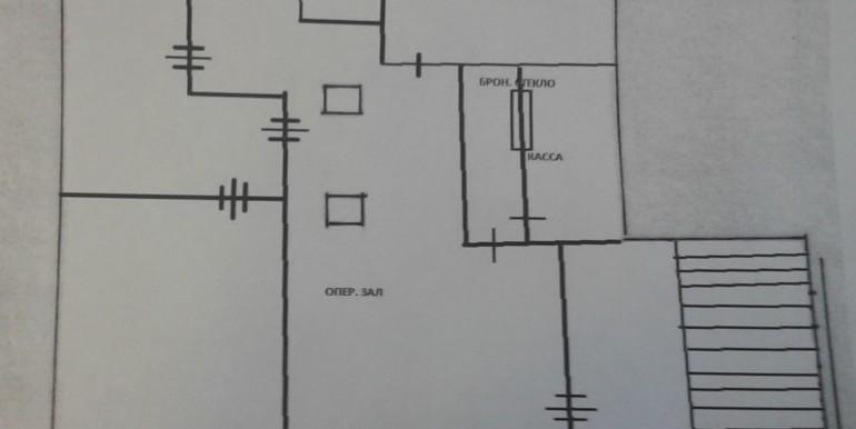 схема 1 этажа Таганка под банк