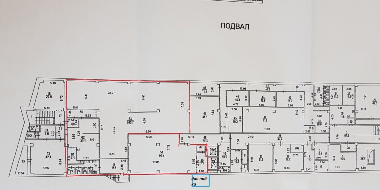 план цок 436м